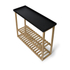 Wireworks Hello Storage Console Table - Black: Image 3