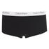 Calvin Klein Women's CK One Logo Shorty Briefs - Black: Image 1
