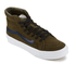 Vans Women's Sk8-Hi Slim Cut Out Perforated Suede Trainers - Tarmac/True White: Image 2