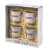 Eddingtons Breakfast Bundle - Cream Egg Buckets (Set of 4) and Egg Clacker: Image 4