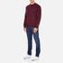 Carhartt Men's Chase Sweatshirt - Chianti/Gold: Image 4