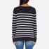 ONLY Women's Mila Stripe Long Sleeve Top - Night Sky: Image 3