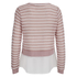 ONLY Women's Rope Mix Top - Misty Rose: Image 2