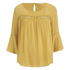 ONLY Women's Theo Lace Top - Honey Gold: Image 1