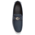 Versace Collection Men's Leather Driving Shoes - Blue: Image 3