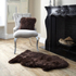 Royal Dream Large Sheepskin Rug - Brown: Image 1