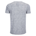 Brave Soul Men's Exit Zip Pocket T-Shirt - Light Grey: Image 2