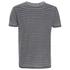 Threadbare Men's Helsinki Burnout Stripe T-Shirt - Grey: Image 1