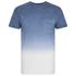 Threadbare Men's Dunbar Dip Dye T-Shirt - Blue: Image 1
