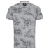 Threadbare Men's Hanoi Floral Print Polo Shirt - Grey: Image 1