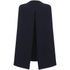Lavish Alice Women's Split Back Cape Dress - Navy: Image 4