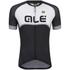 Alé Excel Veloce Short Sleeve Jersey - Black/Grey: Image 1