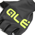 Alé Aria Summer Gloves - Black/Yellow: Image 2
