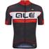 Alé PRR Bermuda Short Sleeve Jersey - Black/Red: Image 1