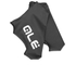Alé Aerolight Lycra Shoe Covers - Black/White: Image 5