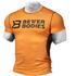 Better Bodies Men's Tight Function T-Shirt - Orange/Grey: Image 1