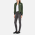 Converse Women's All Star Core Reversible MA-1 Bomber Jacket - Herbal: Image 4