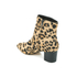 Dune Women's Pebbles Mid Heeled Suede Boots - Leopard Pony: Image 4