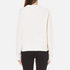 Carven Women's Cable Knit Cropped Jumper - Cream: Image 3