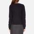Carven Women's Jumper Shirt Dress - Navy: Image 3