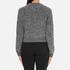 Carven Women's Leather Pocket Front Jumper - Black/White: Image 3