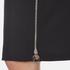Carven Women's Full Zip Pencil Skirt - Black: Image 5