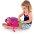 Trunki PaddlePak Coral the Tropical Fish Backpack - Medium - Pink: Image 5