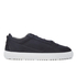 ETQ. Men's Low Top 3 Leather Trainers - Blueberry: Image 1