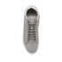 ETQ. Men's Mid Top 2 Leather Trainers - Alloy: Image 3