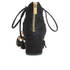 MICHAEL MICHAEL KORS Women's Mirabel Leather Mid Heel Sandals - Black: Image 3