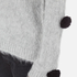 MSGM Women's Pom Pom Brushed Mohair Jumper - Grey: Image 5