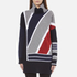 KENZO Women's Multi Colour Abstract Roll Neck Jumper - Midnight Blue: Image 1