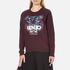 KENZO Women's Tiger Tanami Flower Print Sweatshirt - Prune Melange: Image 2