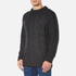 Vivienne Westwood Anglomania Men's Long Ribs Jumper - Charcoal: Image 2