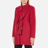 Boutique Moschino Women's Frill Jacket - Red: Image 2