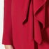 Boutique Moschino Women's Frill Jacket - Red: Image 5