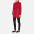 Boutique Moschino Women's Frill Jacket - Red: Image 4