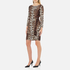 Boutique Moschino Women's Zip Pleat Dress - Leopard: Image 4