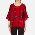 Boutique Moschino Women's Cape Jumper - Red: Image 1