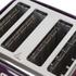 Breville VTT634 Impressions 4 Slice Toaster - Damson: Image 3