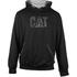 Caterpillar Men's Lightweight Tech Hooded Sweatshirt - Black: Image 1