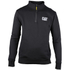 Caterpillar Men's Canyon 1/4 Zip Sweatshirt - Black: Image 1