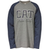 Caterpillar Men's Rugged Baseball T-Shirt - Grey: Image 1
