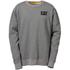 Caterpillar Men's Trademark Crew Sweatshirt - Grey: Image 1