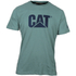 Caterpillar Men's Logo T-Shirt - Green: Image 1