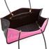 KENZO Women's Kombo East West Tote Bag - Pink/Bordeaux: Image 5