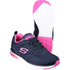Skechers Women's Skech Air Infinity Low Top Trainers - Navy: Image 3