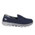 Skechers Men's GOwalk 3 Low Top Trainers - Blue: Image 1