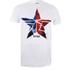 Marvel Men's Captain America Civil War Broken Star T-Shirt - White: Image 1
