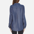 BOSS Orange Women's Emilitye Blouse - Dark Blue: Image 3